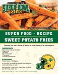 Super Bowl Superfood - Sweet Potato Fries
